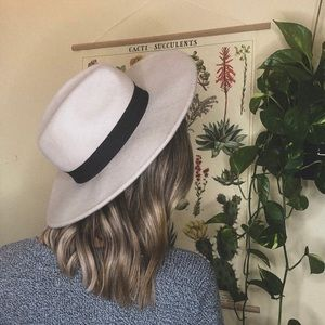 boho felt hat